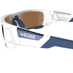 Skibril Skiing 900 volwassenen, zwart en blauw, verwisselbare lenzen cat. 4+2 - 1072683