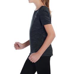 T-shirt korte mouwen gym Energy meisjes - 1072716