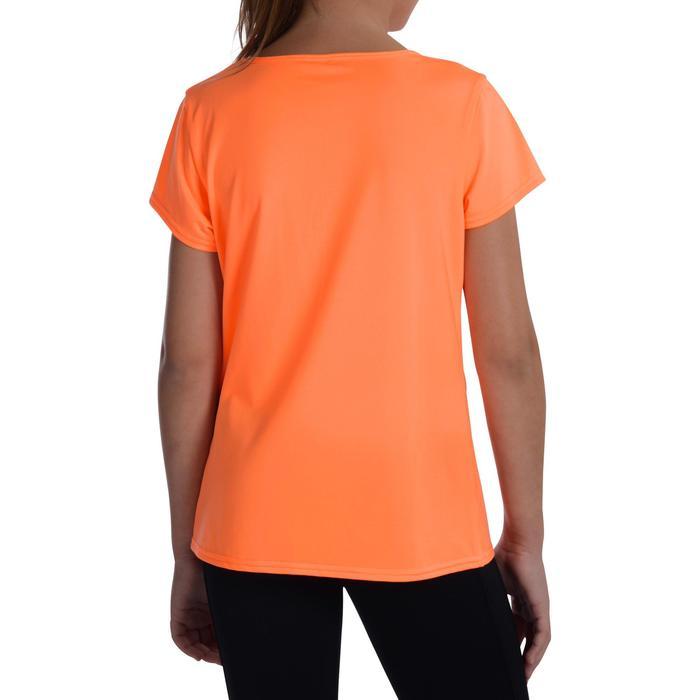 Gym T-shirt Energy met korte mouwen voor meisjes oranje