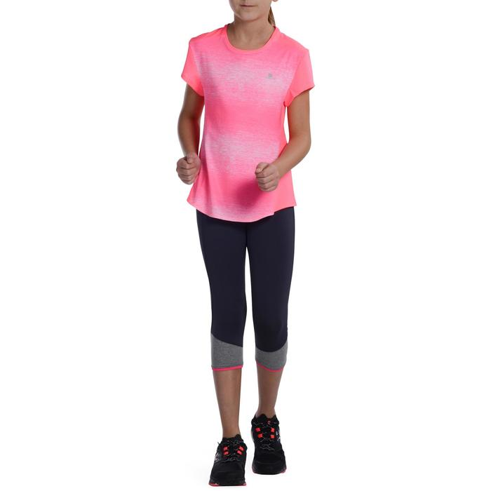 T-Shirt manches courtes Gym Energy fille - 1072764