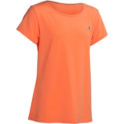 Gym T-shirt met korte mouwen Energy voor meisjes