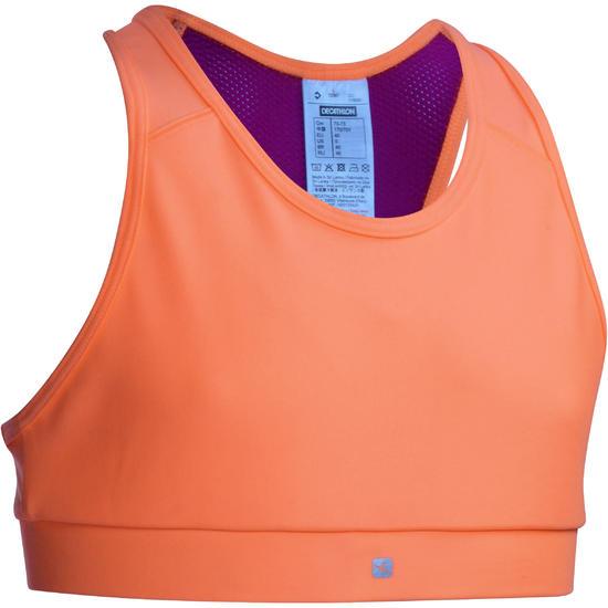 Kort gym topje Energy voor meisjes - 1072830