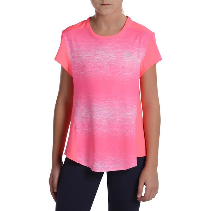 T-Shirt manches courtes Gym Energy fille - 1072833