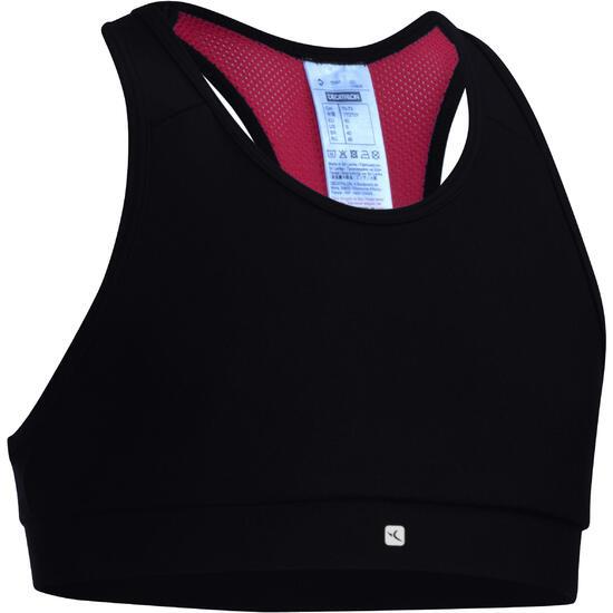 Kort gym topje Energy voor meisjes - 1072938