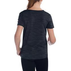 T-shirt korte mouwen gym Energy meisjes - 1072952