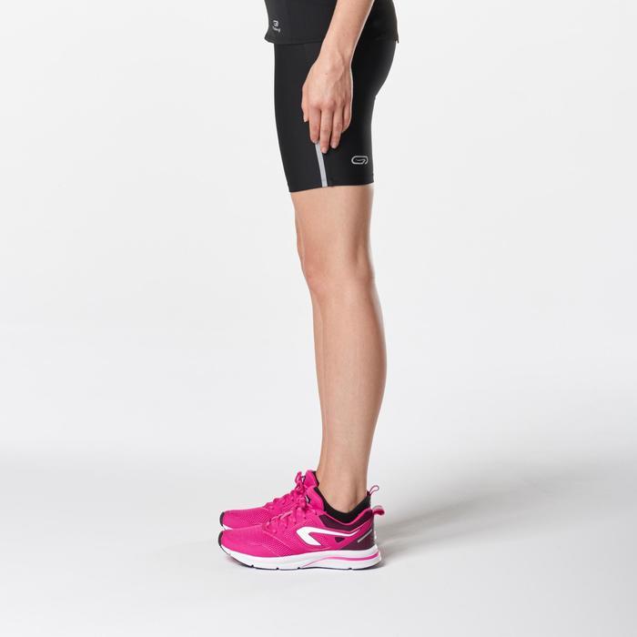 Korte loopbroek Run Dry voor dames zwart - 1072958