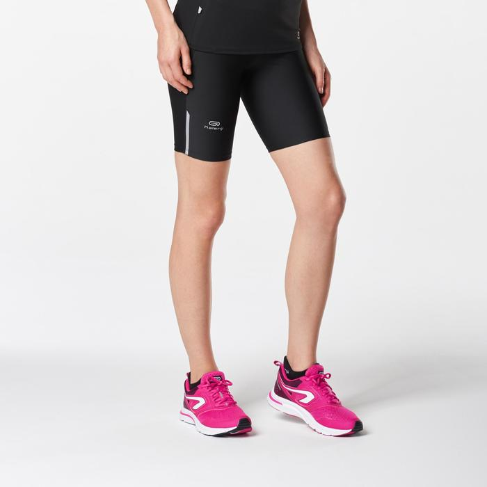 Korte loopbroek Run Dry voor dames zwart - 1072966