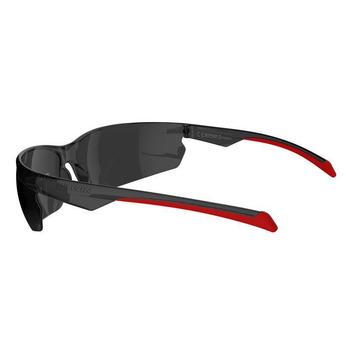 Gafas de BTT adulto ST 100 gris rojo Categoría 3