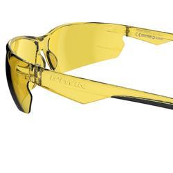 Fietsbril voor volwassenen Cycling 100 geel categorie 1 - 1073113