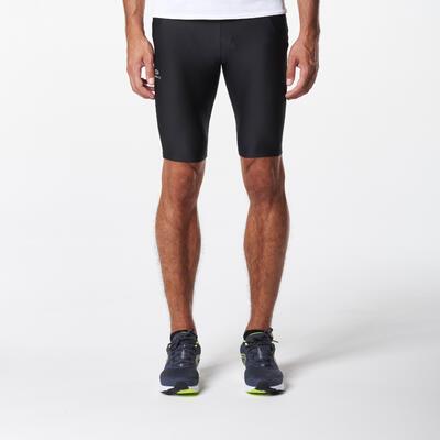 Чоловічі тайтси-шорти Run Dry+ для бігу – Чорні