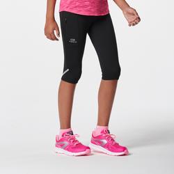 Run Dry Kids Cropped Trousers - Black
