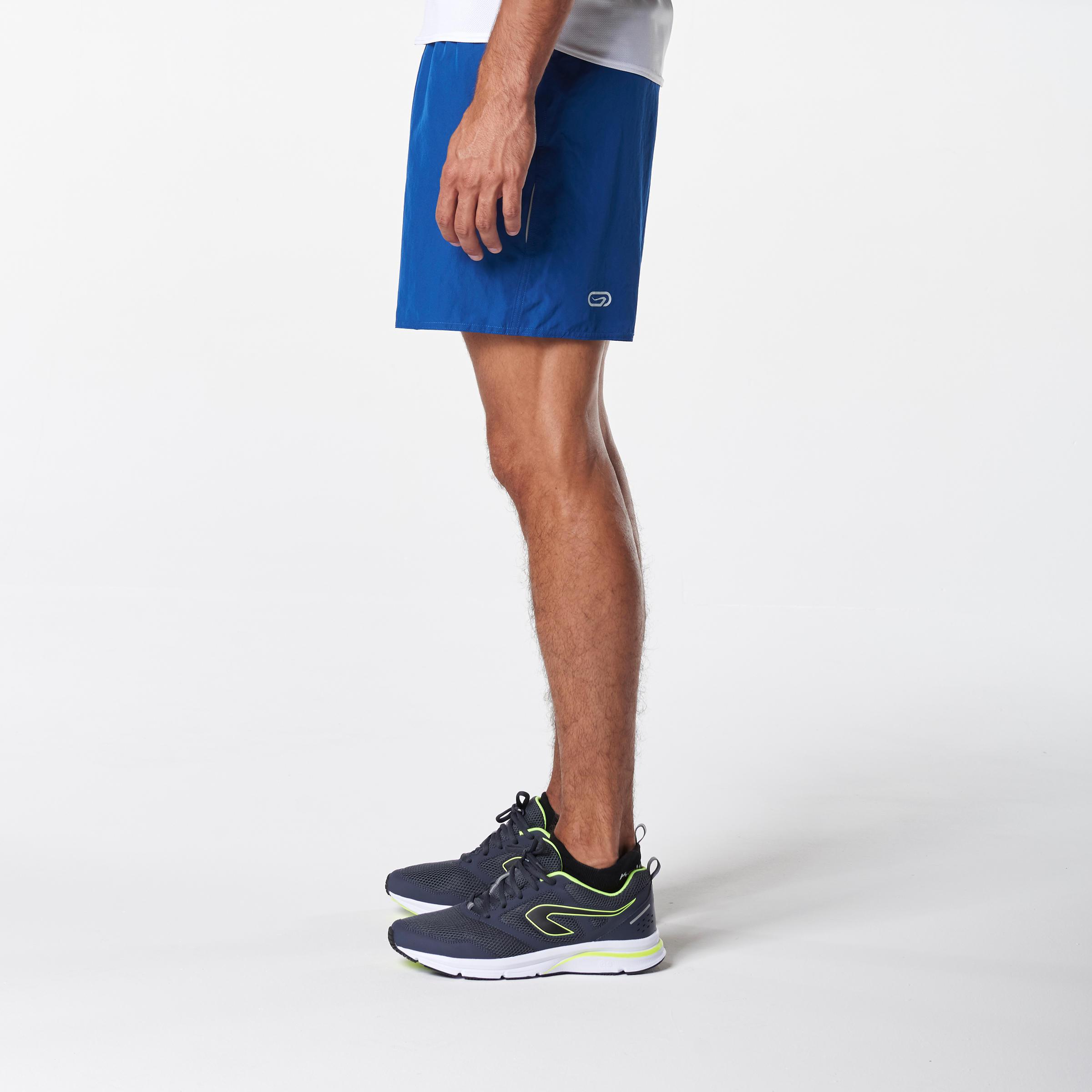 RUN DRY MEN'S RUNNING SHORTS BLUE