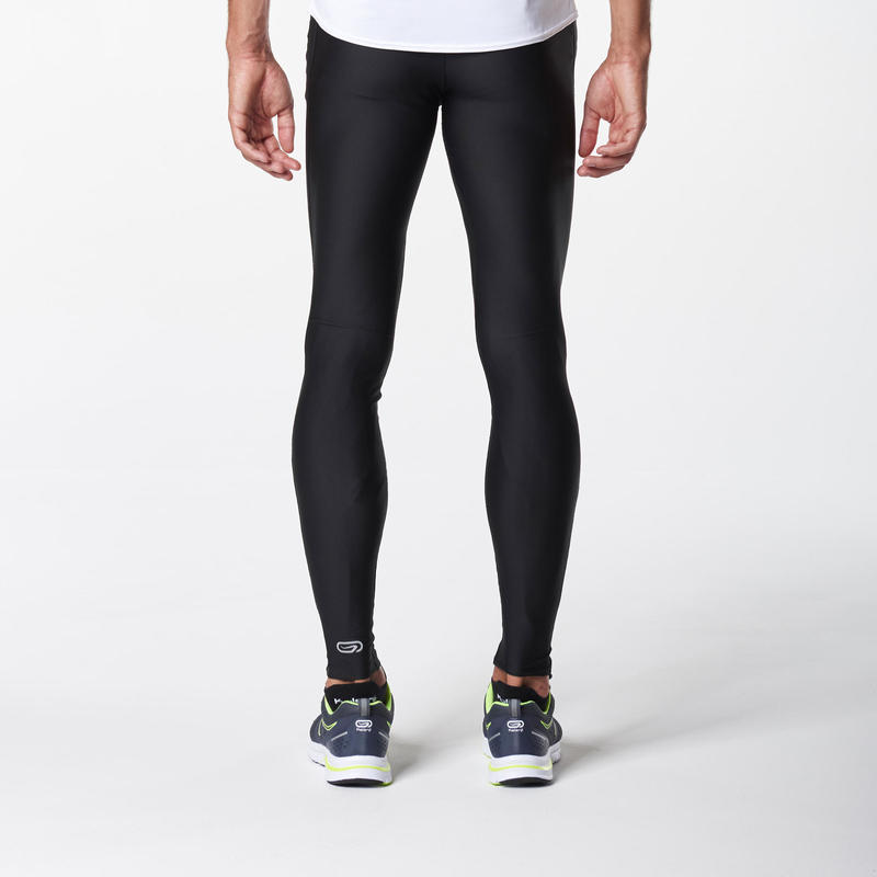 Run Dry Men's Running Tights - Black