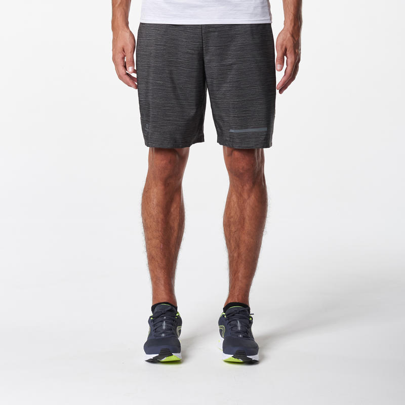 SHORT RUNNING HOMME RUN DRY + GRIS