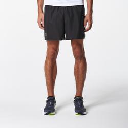 男款跑步短褲Run Dry+黑色