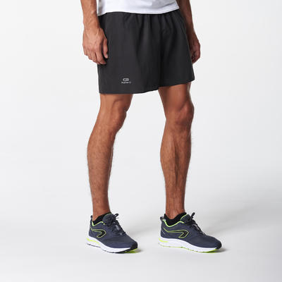 מכנסי ריצה קצרים לגברים דגם RUN DRY - שחור
