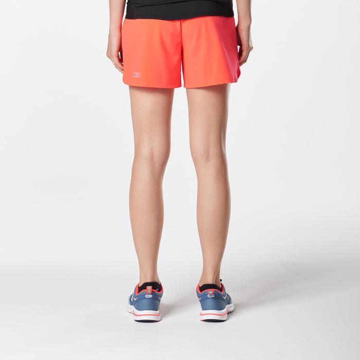 Joggingshort voor dames Run Dry koraalrood