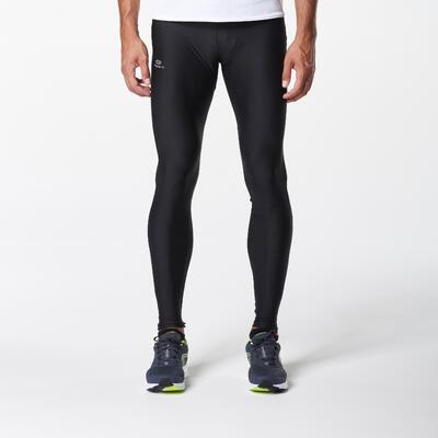 Чоловічі легінси для бігу Run Dry – Чорні