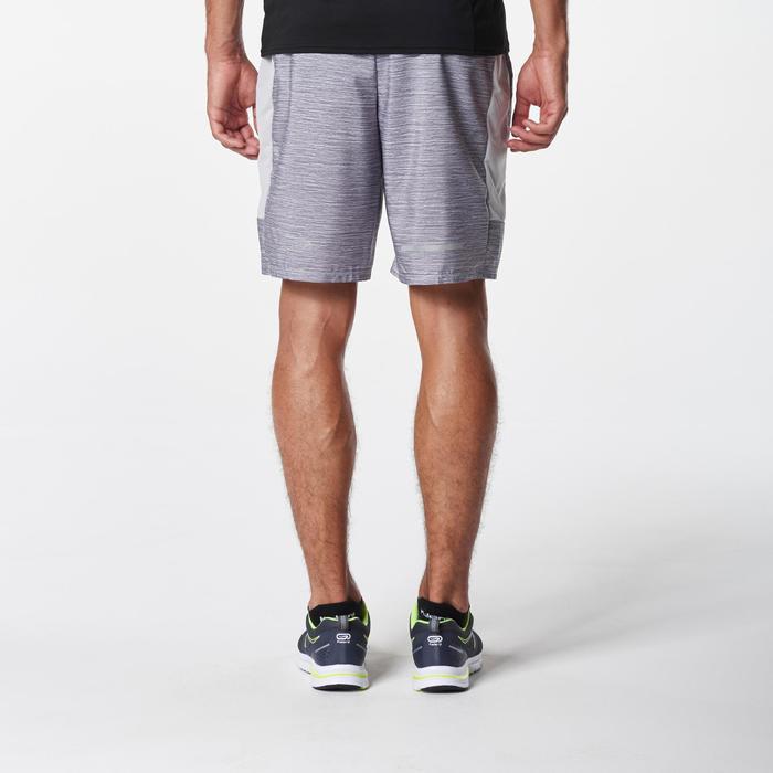 Run Dry + Men's Running Shorts - Mottled Grey
