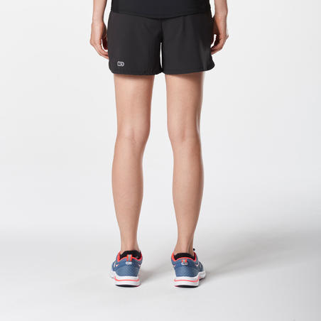 RUN DRY WOMEN'S JOGGING SHORTS BLACK