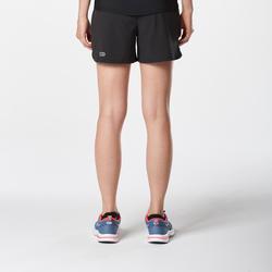 Short pour la course à pied RunDry noir – Femmes