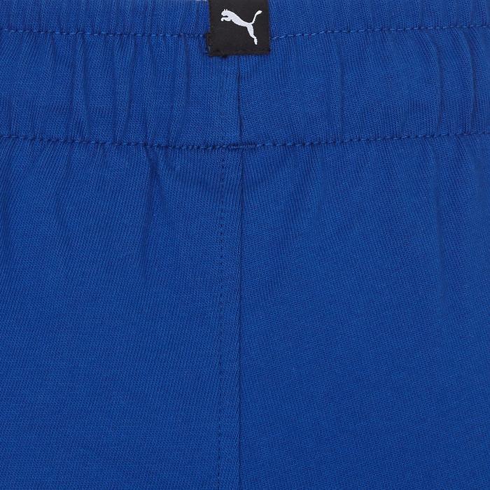 Short Fitness garçon bleu