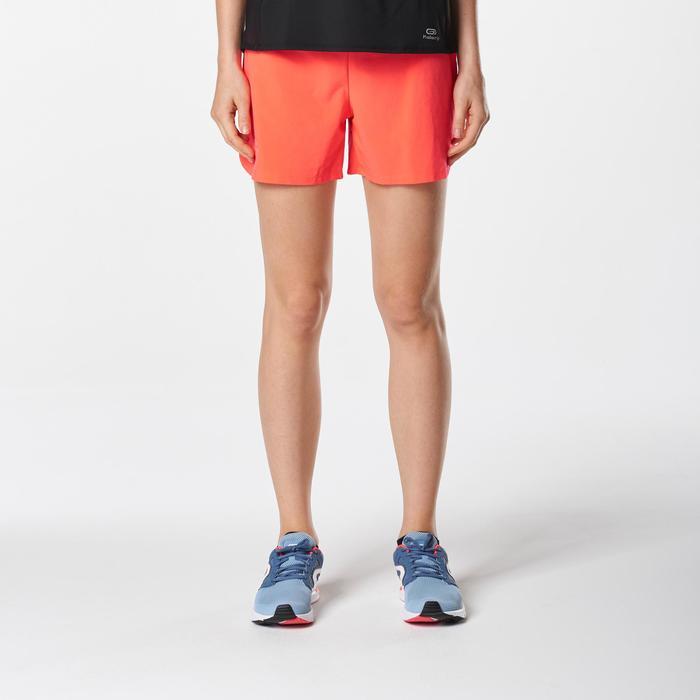 Laufshorts Run Dry Damen neonfarben koralle