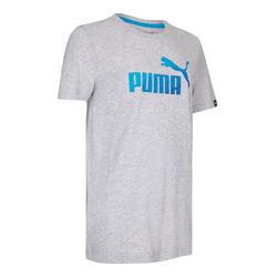 T-shirt Fitness jongens Puma DryCELL grijs