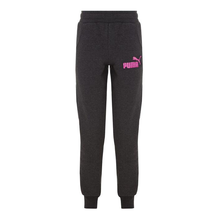 Pantalon Fitness fille gris - 1073453