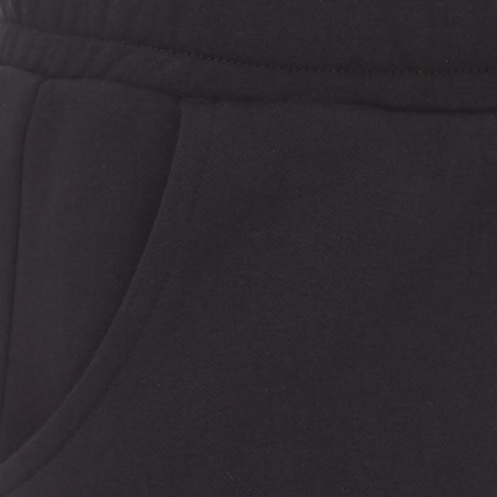 Pantalon Fitness fille noir - 1073470