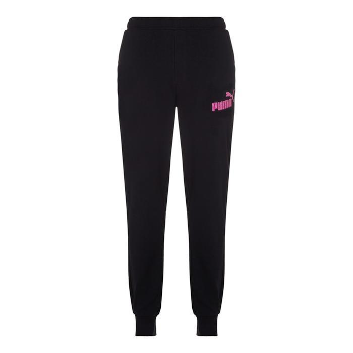 Pantalon Fitness fille noir - 1073472