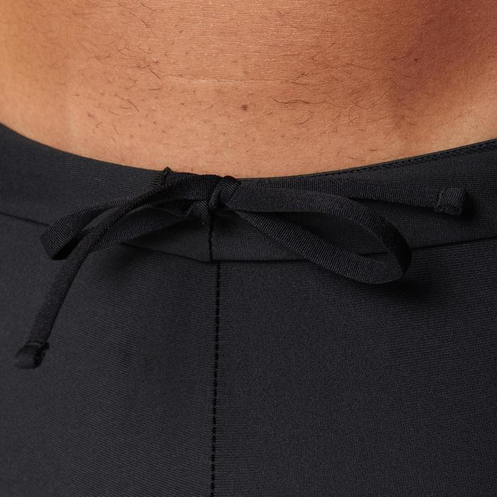 Korte hardloopbroek voor heren Run Dry zwart