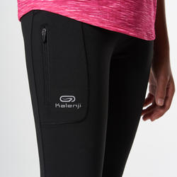 Run Dry Kids' Cropped Pants - Black