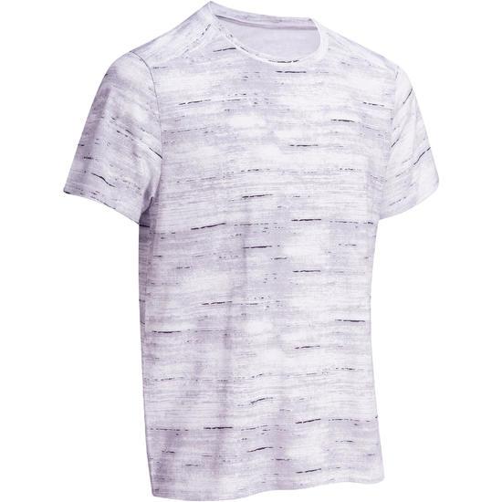 Heren T-shirt voor gym en pilates, regular fit - 1073978