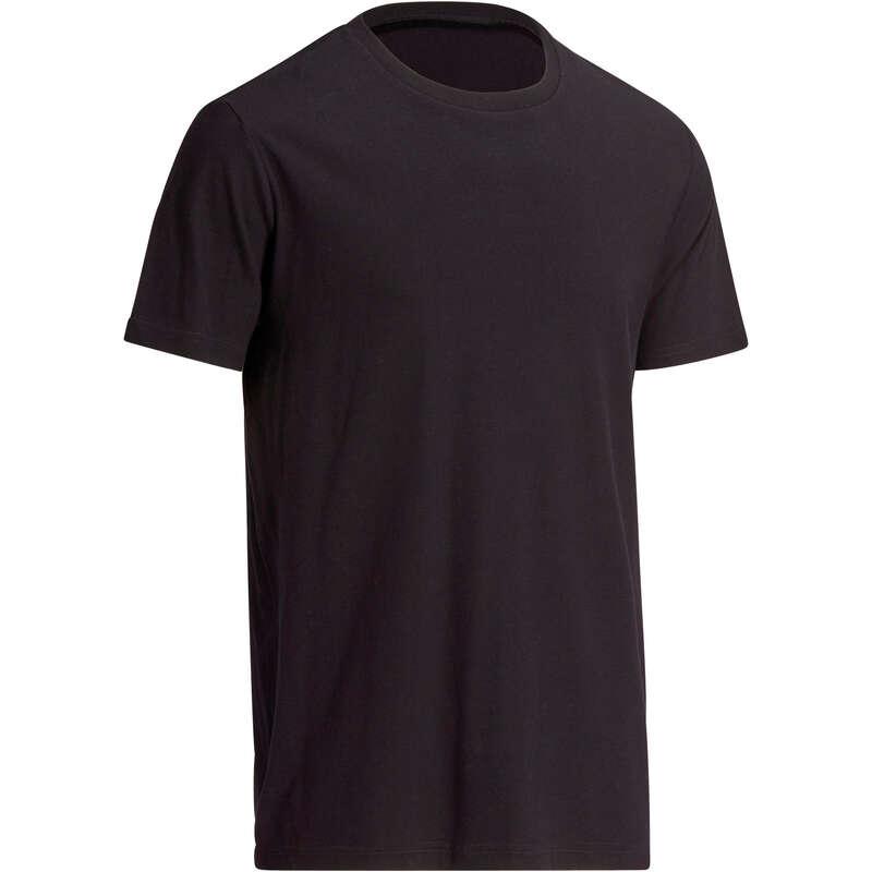 МУЖСКИЕ ФУТБОЛКИ ‒ ШОРТЫ Летняя одежда и обувь - Футболка 100 муж. черная NYAMBA - Летняя одежда и обувь