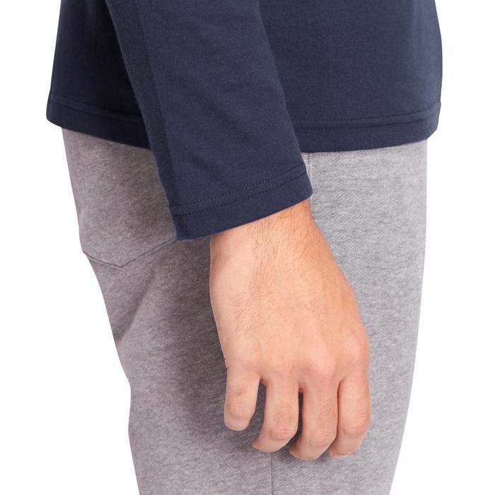 Langarmshirt 120 Gym & Pilates Herren marineblau