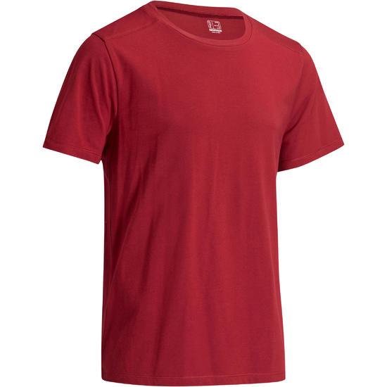Heren T-shirt voor gym en pilates, regular fit - 1074047