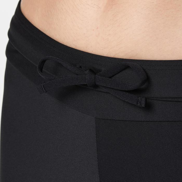 Driekwart loopbroek voor dames Run Dry zwart