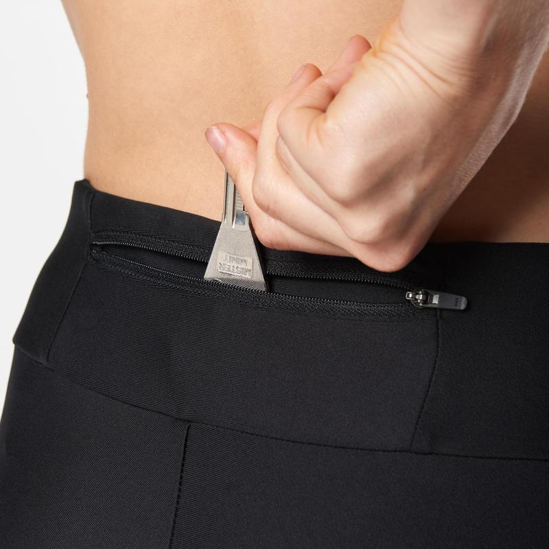 Women's Cropped Bottoms Run Dry - black