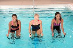 Chloorbestendige zwemshort Anna voor aquabike - 1074692