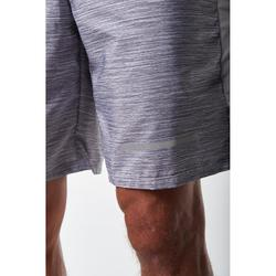 Run Dry + Men's Running Shorts - Mottled Grey