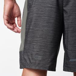 男款跑步短褲Run Dry + - 灰色