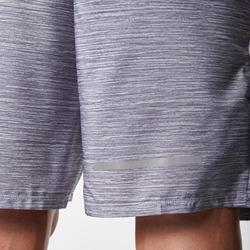 男款短褲RUN DRY+ - 雜灰色