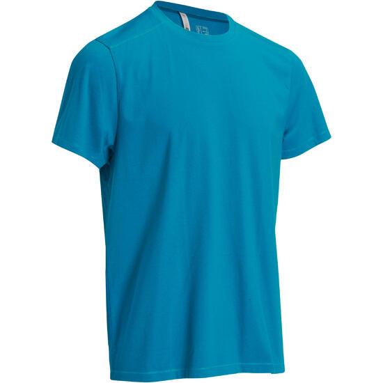Heren T-shirt voor gym en pilates, regular fit - 1074863
