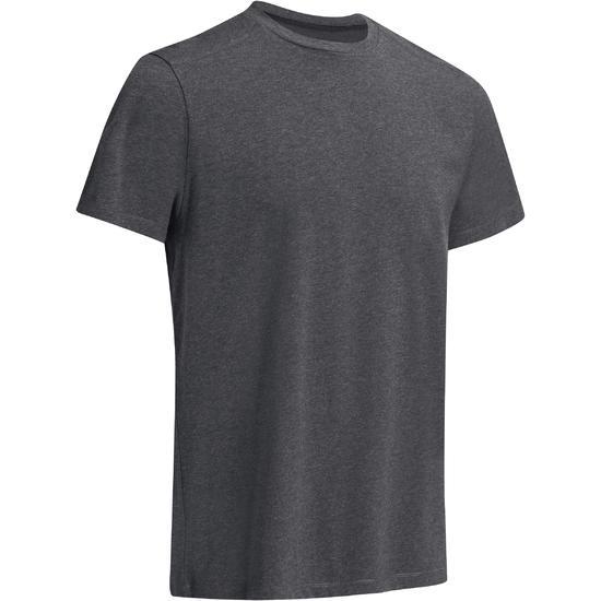 Heren T-shirt voor gym en pilates, regular fit - 1074868
