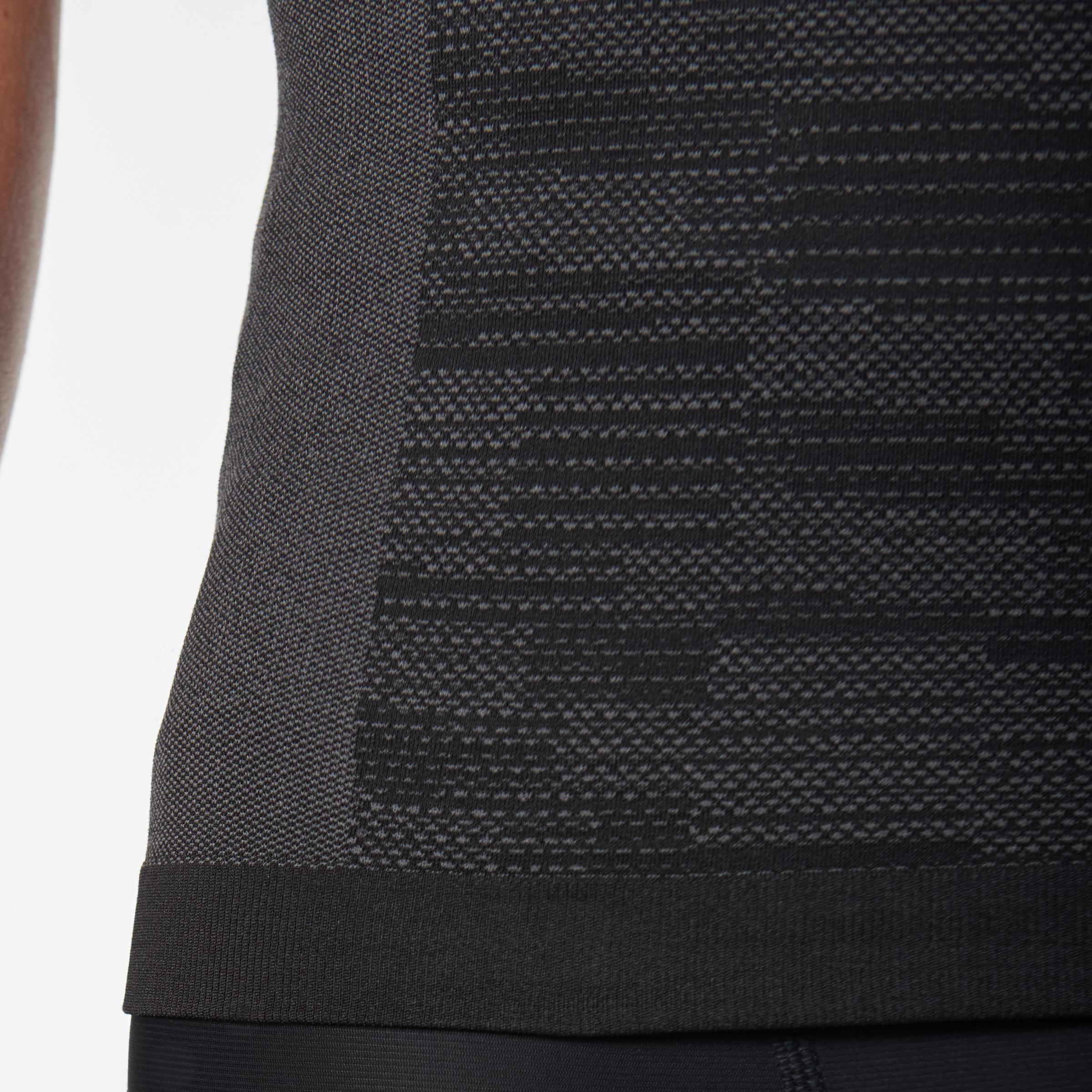 SKINCARE KIPRUN MEN'S RUNNING T-SHIRT BLACK