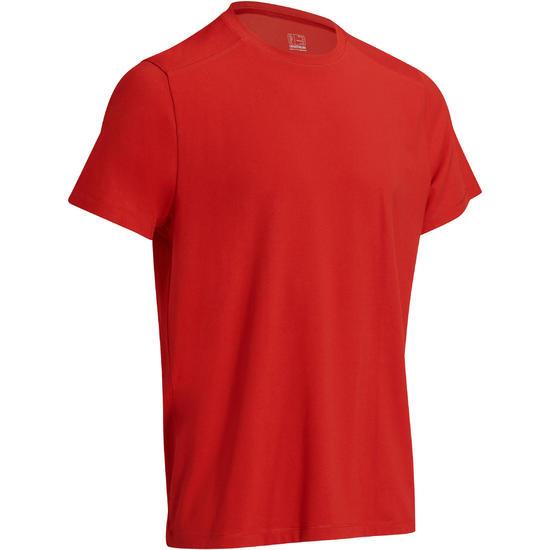 Heren T-shirt voor gym en pilates, regular fit - 1075220