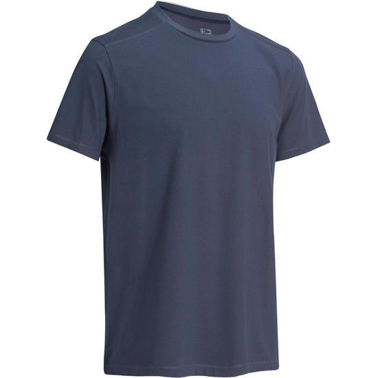 Heren T-shirt voor gym en pilates, regular fit - 1075221