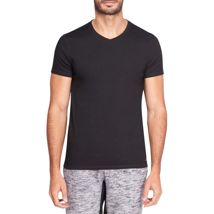 T-Shirt slim Gym & Pilates homme - 1075308