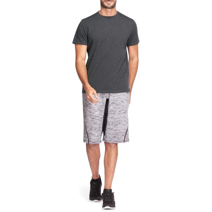 T-shirt homme 500 gris foncé